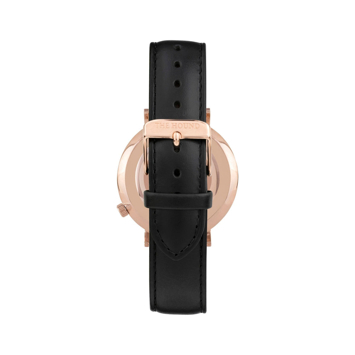 Rose Gold & Black,Leather,Black