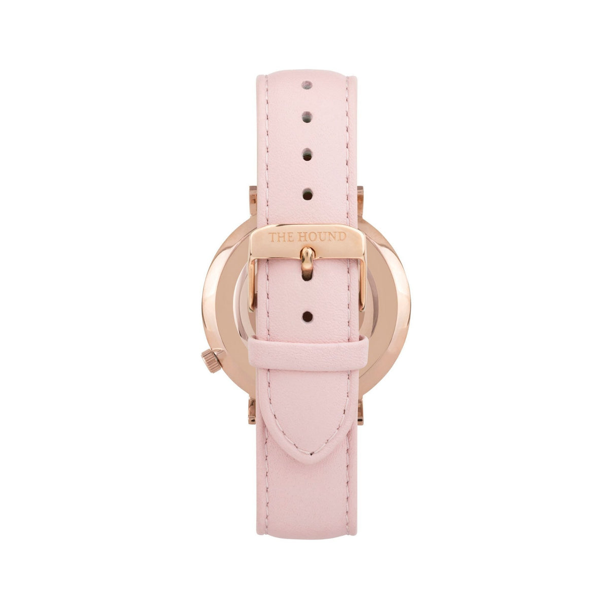 Rose Gold & White,Leather,Blush Pink
