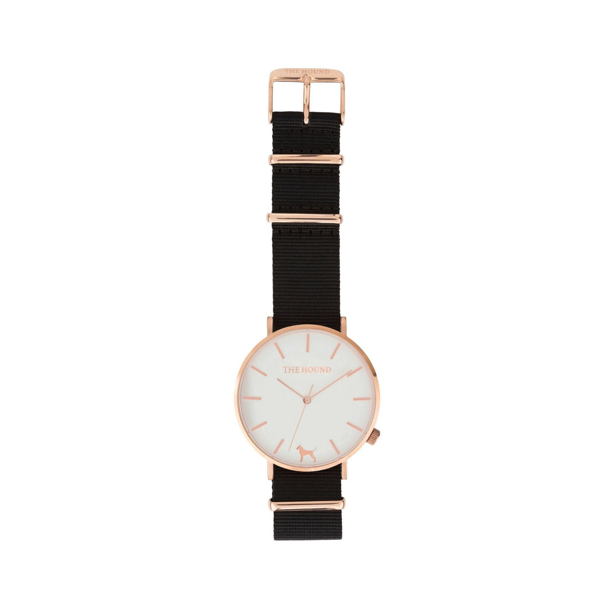 Rose Gold & White,Nato,Black