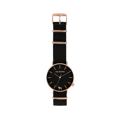 Rose Gold & Black,Nato,Black