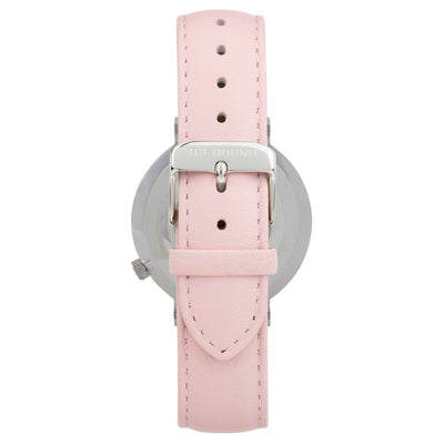 Extra Watch - Silver & Blush Pink Leather
