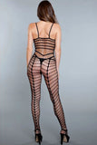 Full Cutout Crotchless Bodystocking