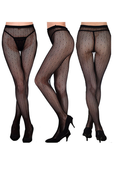 Dotted Sheer Pantyhose (3 Pack)