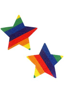 Rainbow Pride Starry Nights Pasties