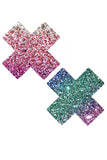 Super Sparkle Multicolor X Pasties