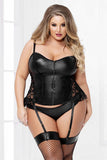 Two Piece Bustier Set with Panty