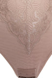 Lace and Mesh Bodysuit Shaper