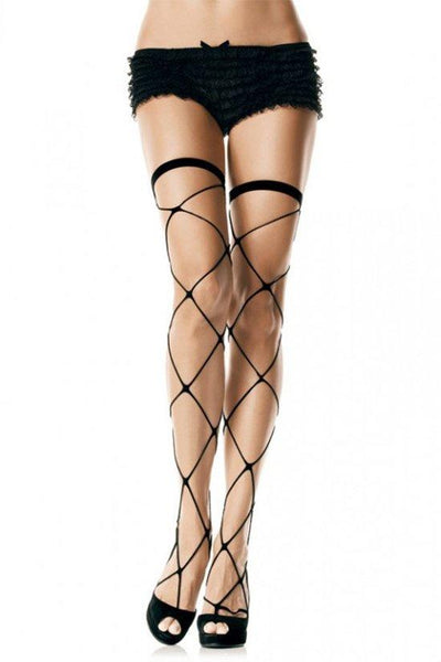 Jumbo Net Thigh High