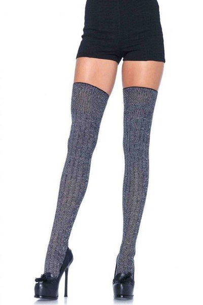 Rib Knit Thigh Highs