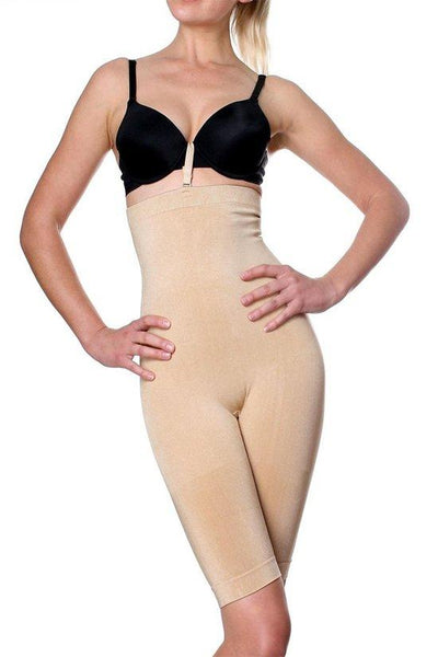 Highwaisted Knee Length Full Body Slimmer