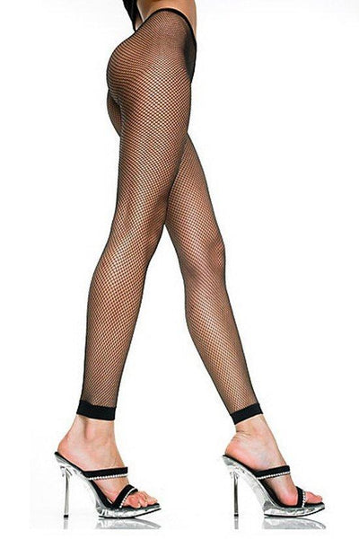 Ankle Length Fishnet Pantyhose