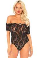 Strapless Lace Teddy