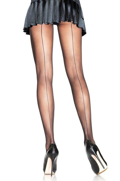 Sheer Backseam Pantyhose