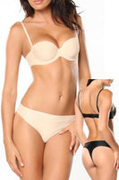 Seamless Convertible Bra & Thong Set