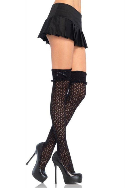 Thigh high SocksWith Turn Over Cuff