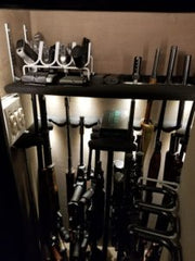 Gun safe lighting