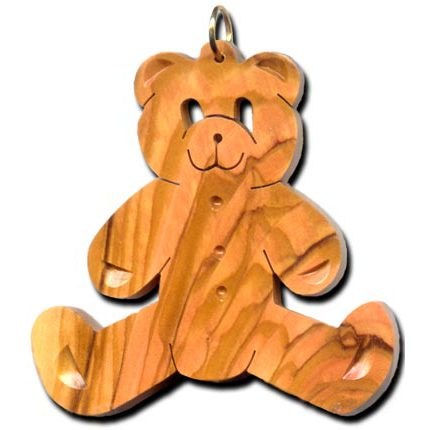 Teddy Bear (Sitting) Ornament - Original Design