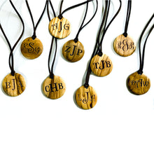 Load image into Gallery viewer, Personalized Monogrammed Medallion Necklaces