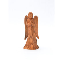 Load image into Gallery viewer, Olive Wood Praying Angel Figures