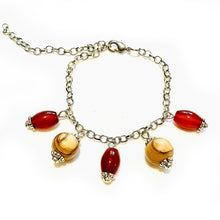Load image into Gallery viewer, Blossom Shade Carnelian Bracelet