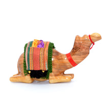 Load image into Gallery viewer, Olive Wood Camel Figures
