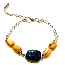 Load image into Gallery viewer, Lazuli Night Sky Bracelet