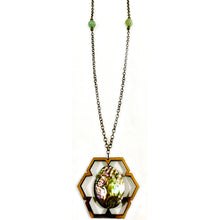Load image into Gallery viewer, Mountain Spring Abalone Necklace