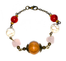 Load image into Gallery viewer, Out & About Howlite Bracelet