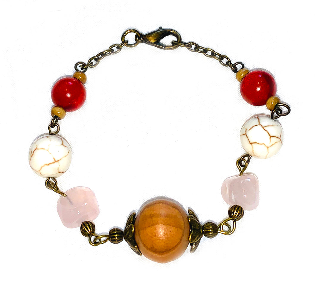 Out & About Howlite Bracelet