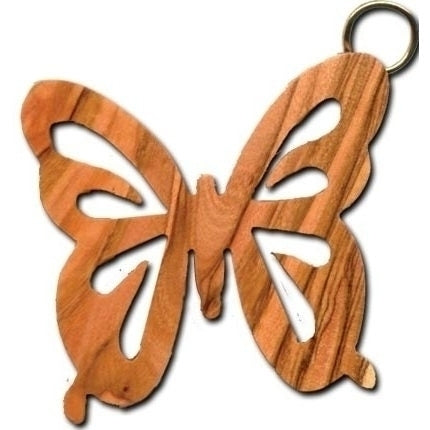 Olive Wood Butterfly (Cutout) Ornament