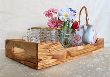 Load image into Gallery viewer, Olive Wood Tea Tray