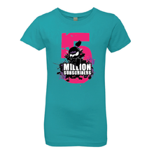 5 Million Subscribers Girl Tee - Big Five