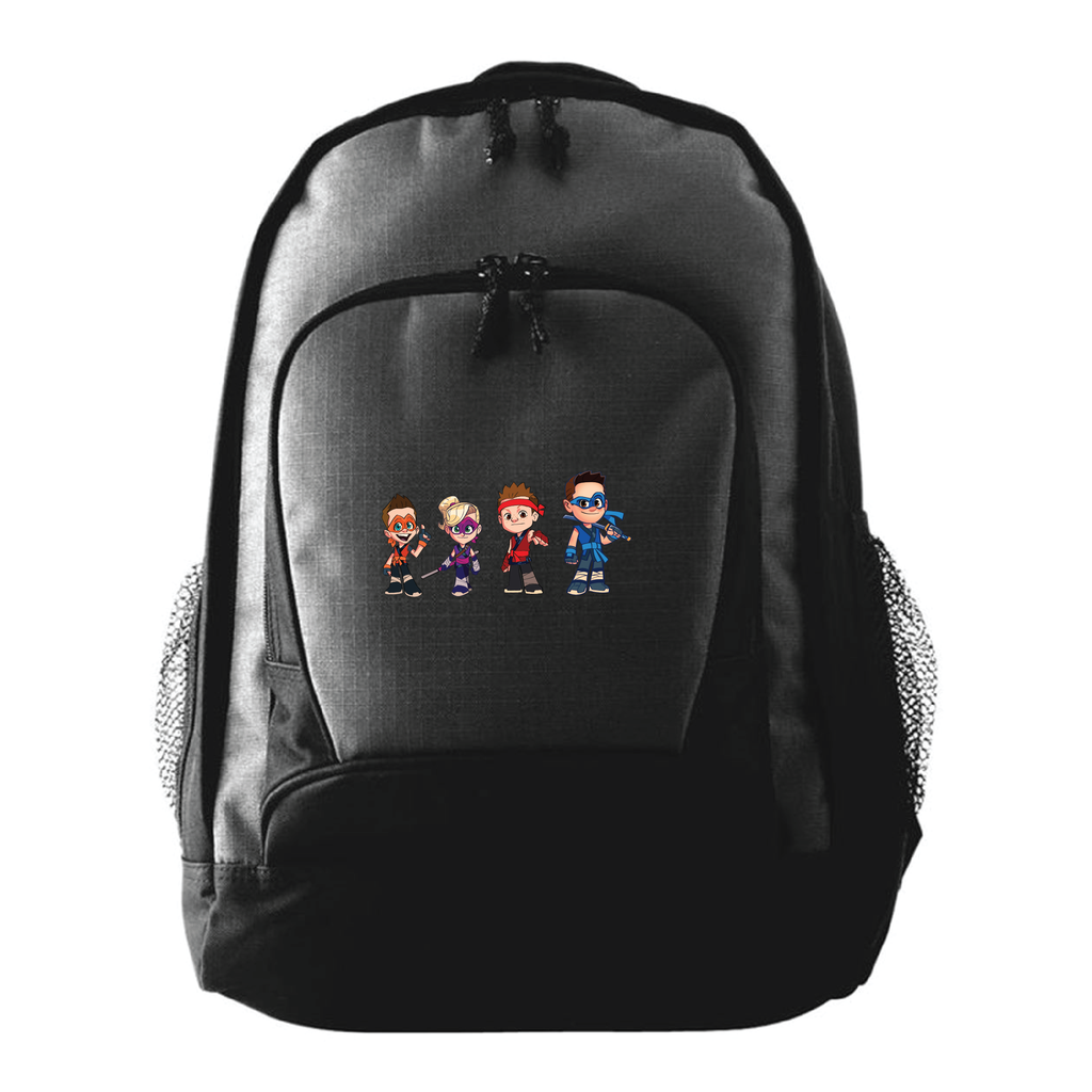 Ninja Kidz © Cartoon Backpack - Black