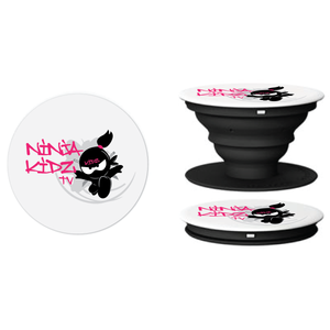 Ninja Girl Flower Pop Socket ©
