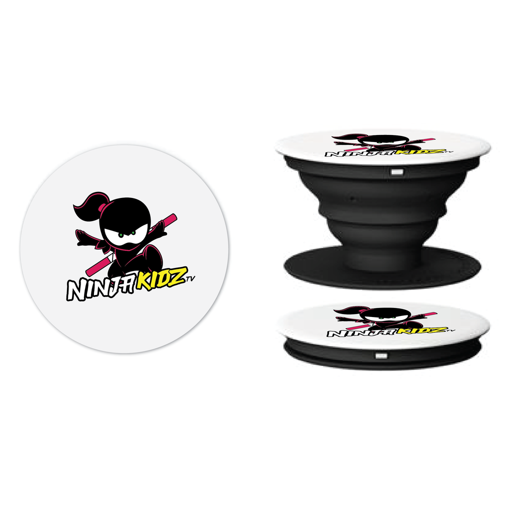 Ninja Girl Flower Pop Socket 3.0 ©