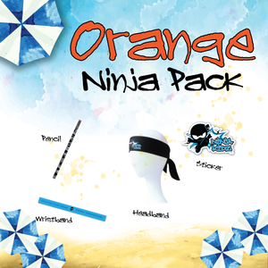 Orange Belt Ninja Pack Boys ©