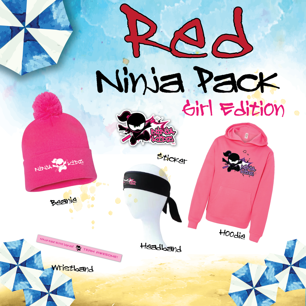Red Belt Ninja Pack Girls ©
