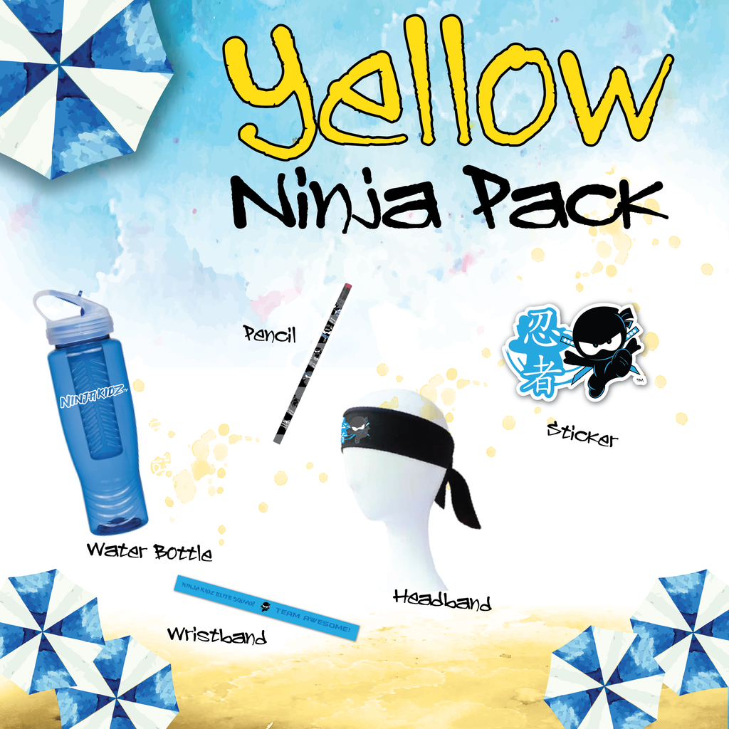 Yellow Belt Ninja Pack Boys ©
