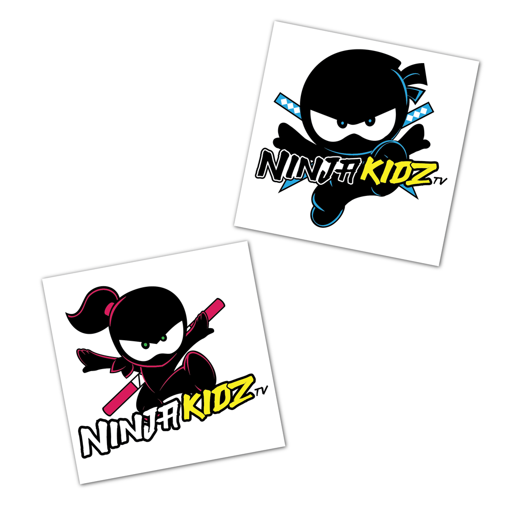 Ninja Kidz Temp Tattoo 3.0 ©