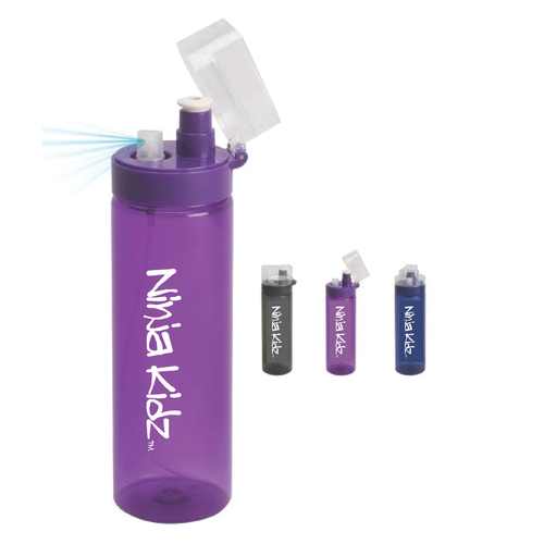 Ninja Kidz Water Bottle Spritzer ©