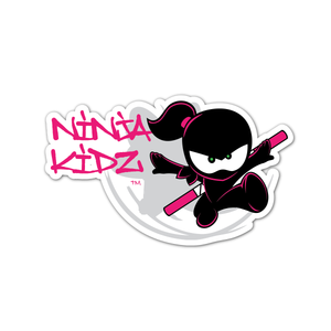 Ninja Kidz Girl Flower Decal 3.0 ©