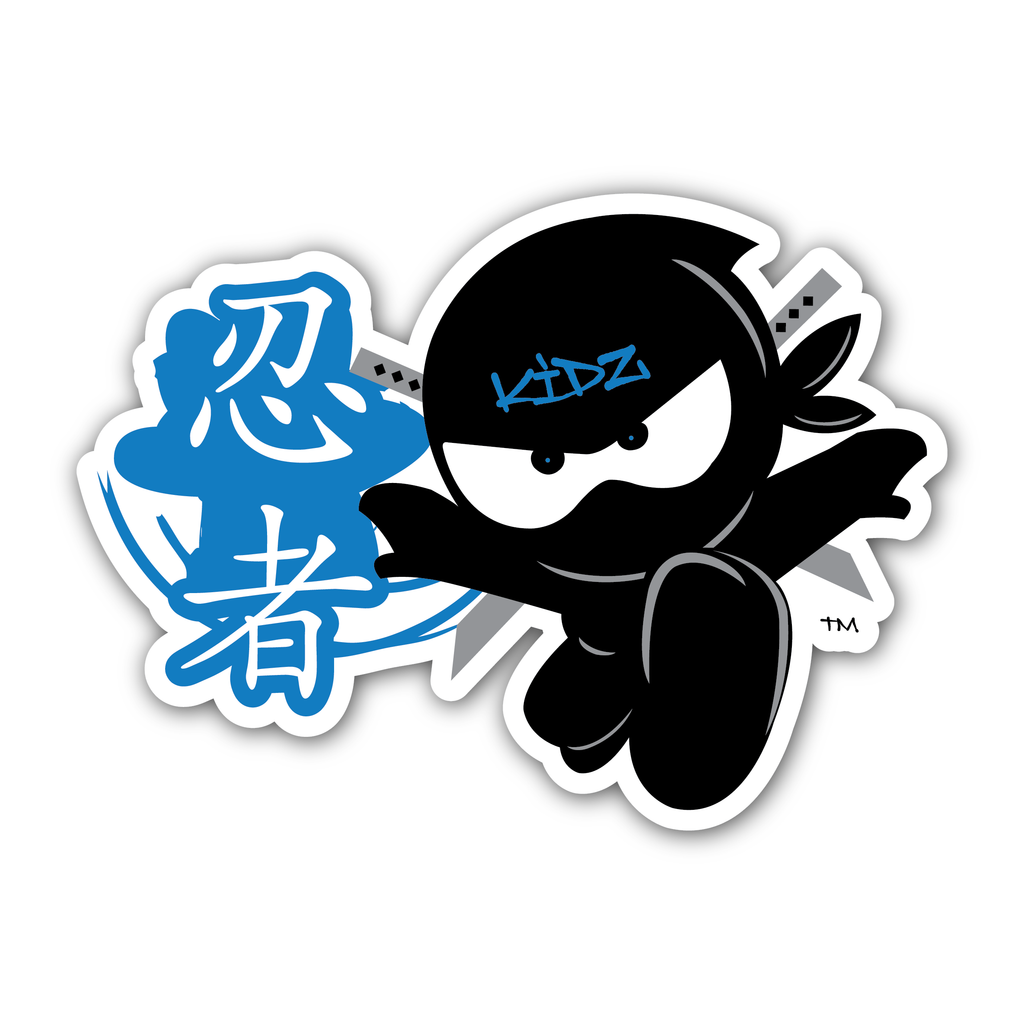 Ninja Kidz Script Decal © CLEARANCE!