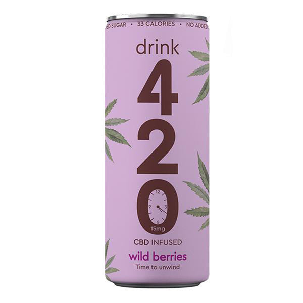 Wild Berries 15mg CBD Drink
