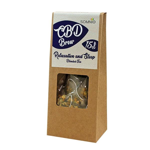 Somnio CBD Brew Blended Tea - 45mg - 3mg Per Bag