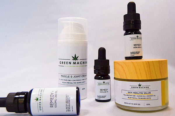 Green Machine recovery CBD Bundle 2300mg+