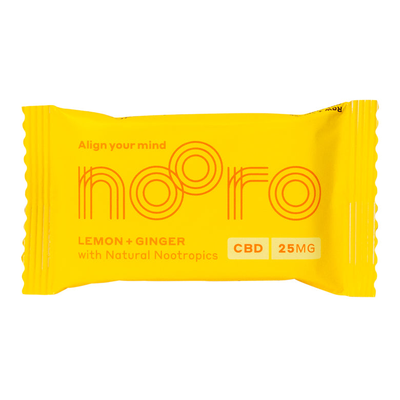 Nooro CBD Edible Lemon + Ginger (25mg)