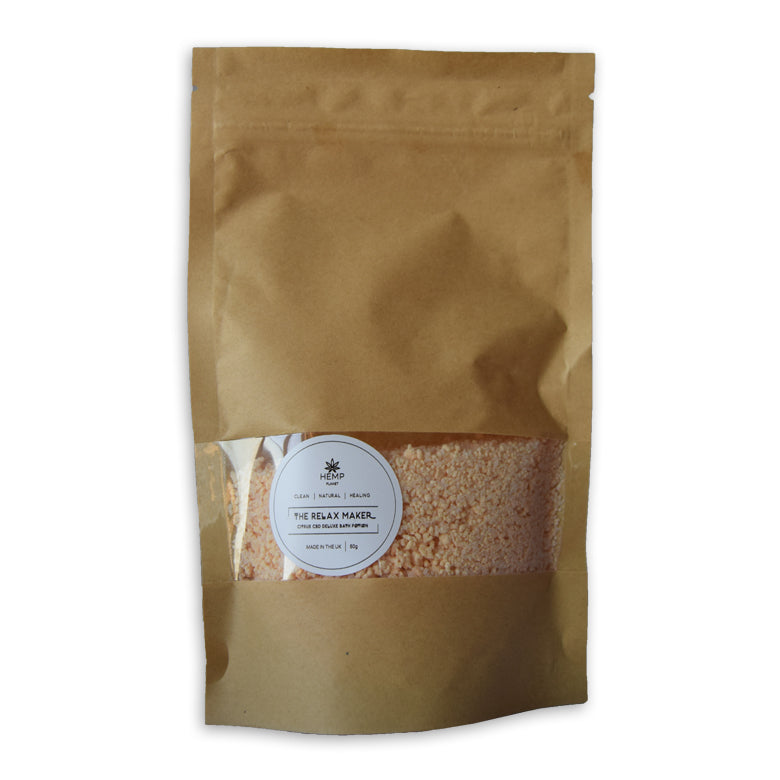 Hemp Planet - Hemp Bath Crystals 100g - 100mg
