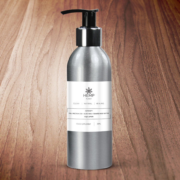 SuperSoft 1500mg Full Spectrum Body Lotion