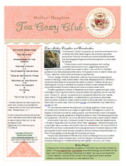 October Tea Cozy Booklet and Audio Conversation