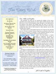 July Tea Cozy Club Booklet and Audio Conversation